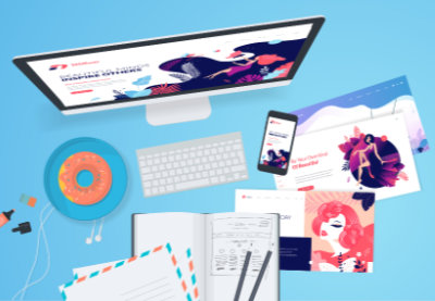 Add web design to photography