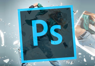 Glass photoshop actions elements