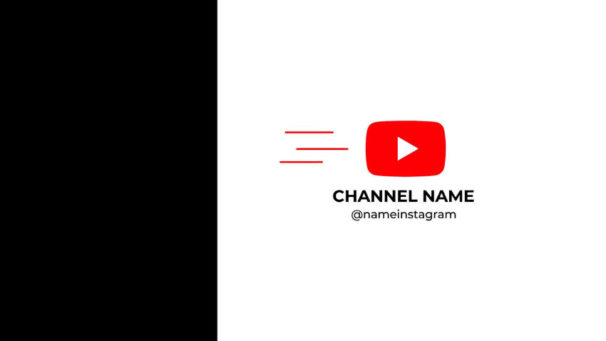 YouTube channel opener video motion graphics free template from Mixkit