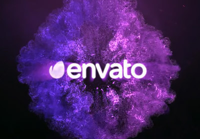 Envato purple cloud