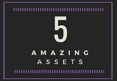 5 amazing assets purple preview