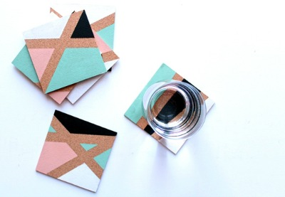 Preview for How to Make Color Block Coasters