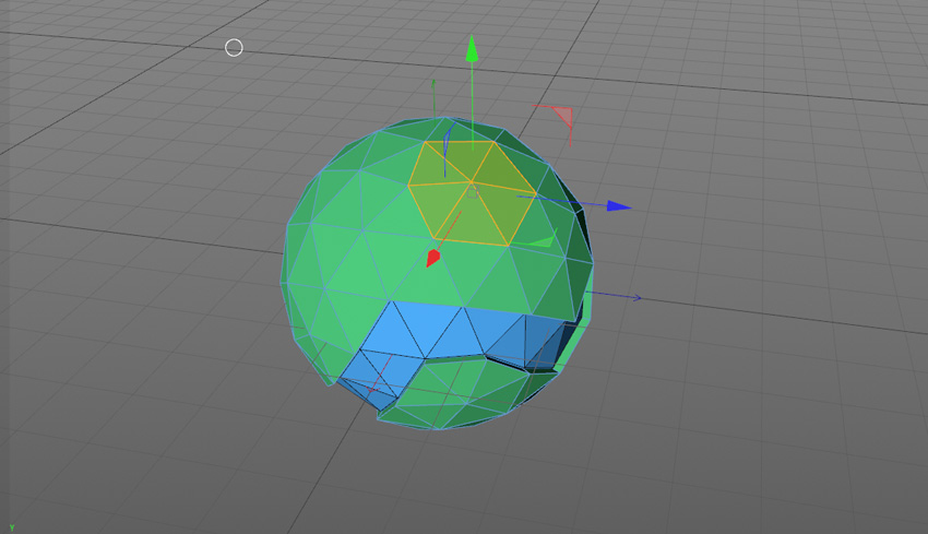 How to Create a 3D Low Poly Mini Planet in Cinema 4D