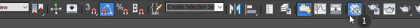 Image of the material editor button