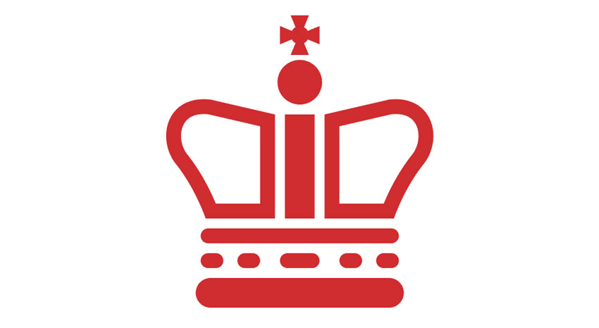A vector crown for the post box