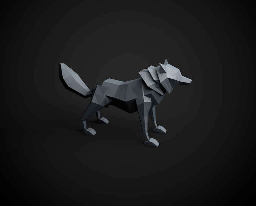 How to Model a Low Poly Wolf in Cinema 4D: Part 1