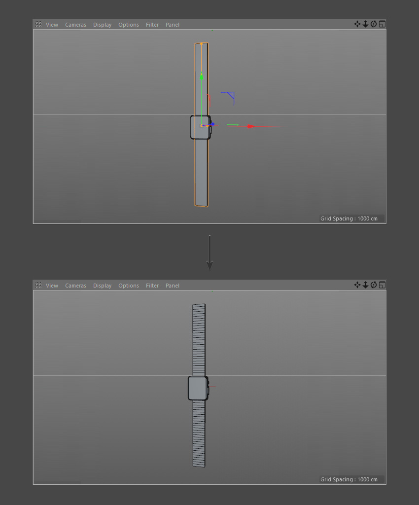 How to Create a Smartwatch in Cinema 4D: Part 1