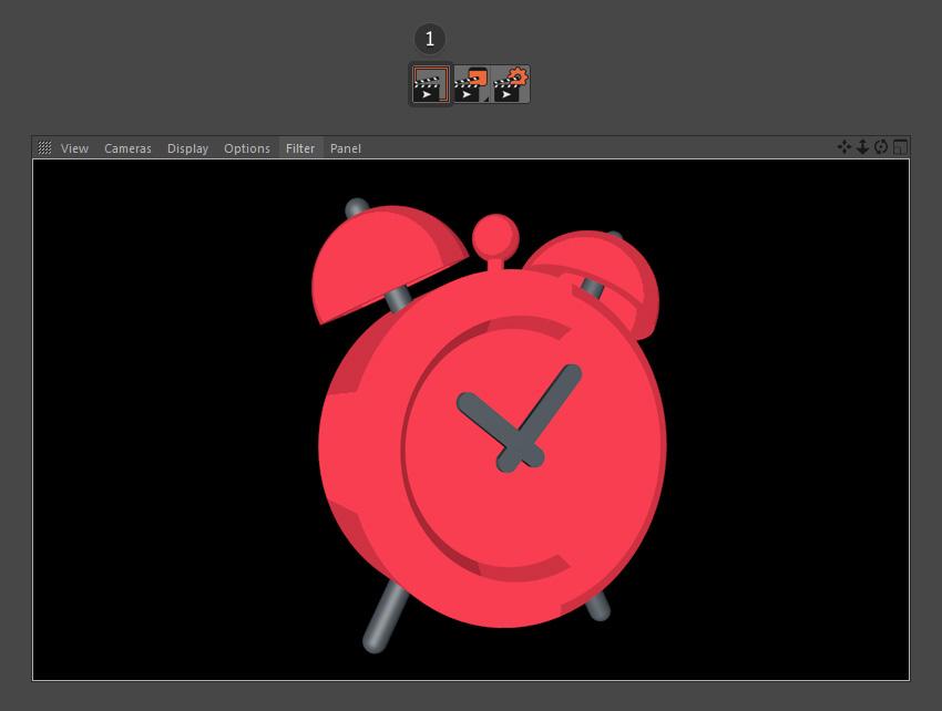 How to Create an Alarm Clock in Cinema 4D: Part 2