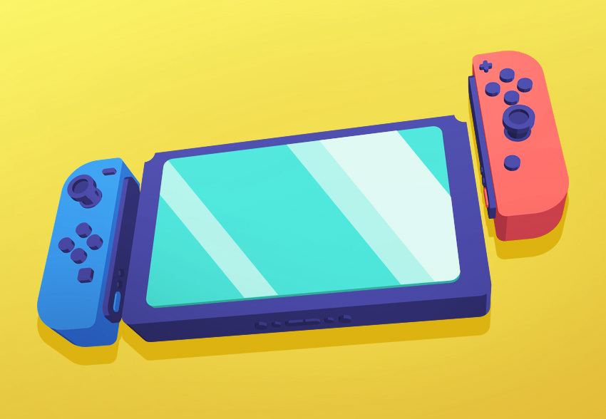 Final Nintendo Switch render