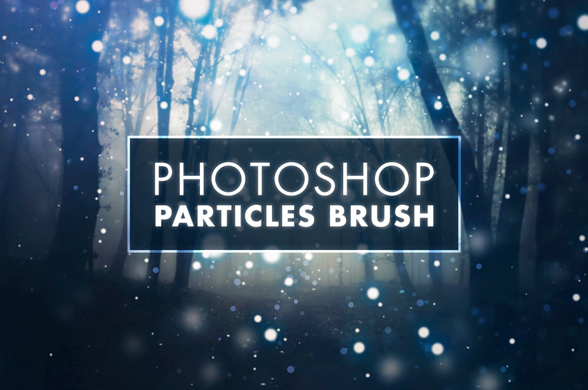 How to create particle effects in Photoshop
