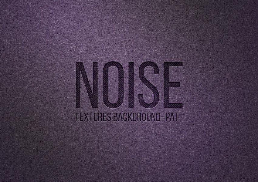 Noise background overlay