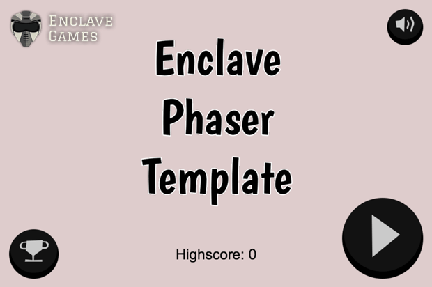 Enclave Phaser Template