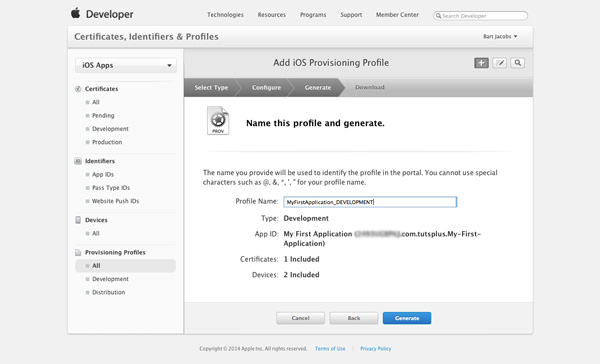 How to Test Your App on an iOS Device