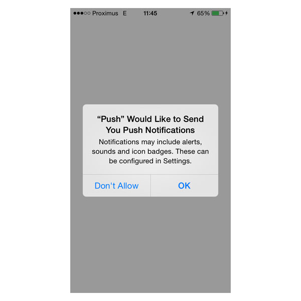 Setting Up Push Notifications on iOS