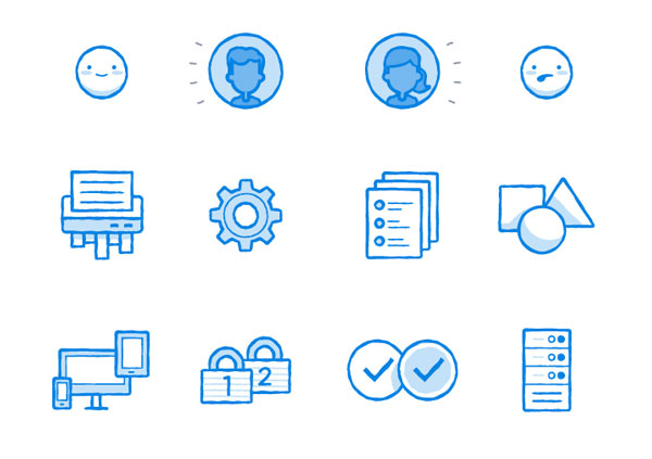 Dropbox Iconography