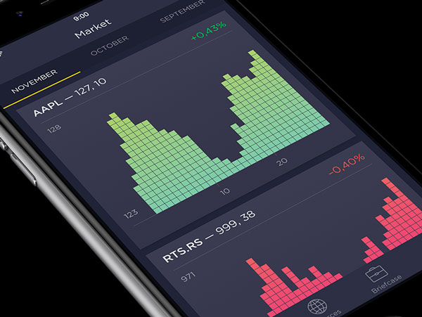 Stocks App Design Concept