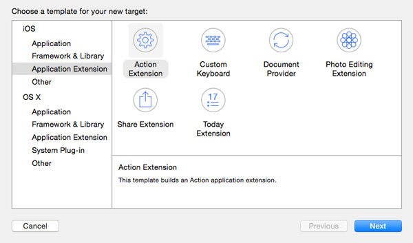 iOS 8: How to Build a Simple Action Extension