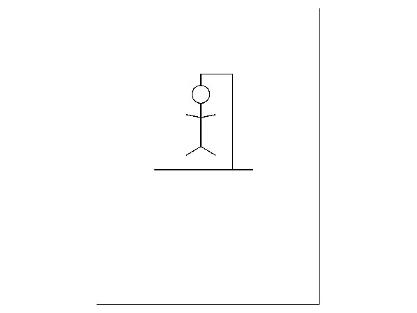 drawing the hangman