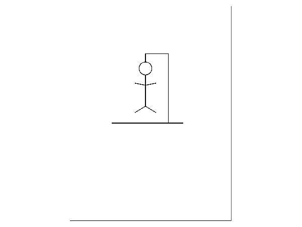 drawing the hangman