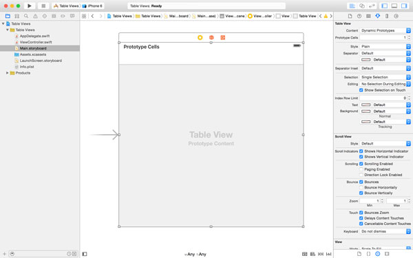 iOS From Scratch With Swift: Table View Basics