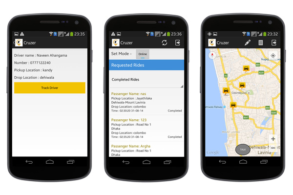 7 android templates to inspire your next project taxi booking app pronofoot35fo Images