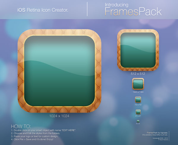 iOS Retina Icon Creator