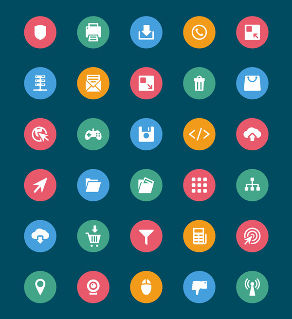 Web and Mobile Vector Icons