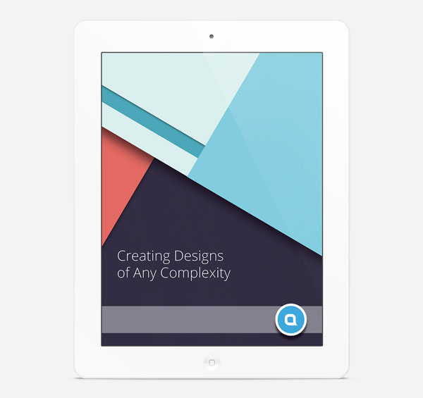Material Design eBook Template