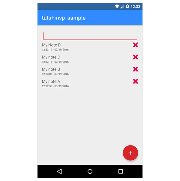 App Layout
