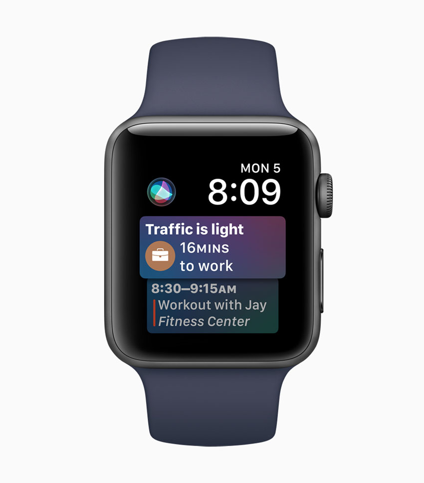 watchOS 4 has better support for Siri and Apple Music