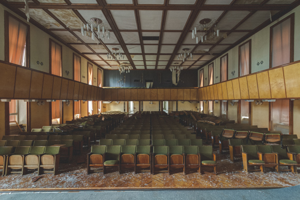 An abandoned school Germany - Schools Out For Summer - James Kerwin