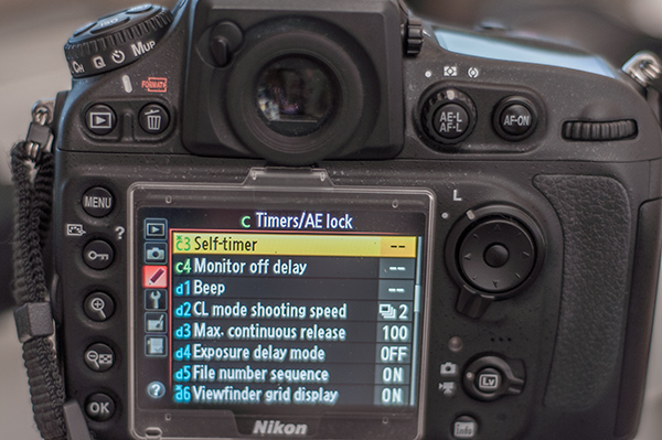 How to Use Your Camera's Self-Timer Instead of a Remote Shutter Release