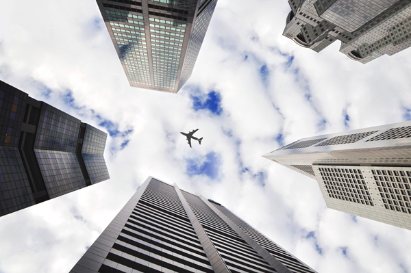 plane towers