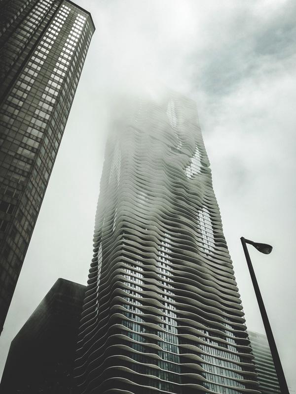 skyscraper mist