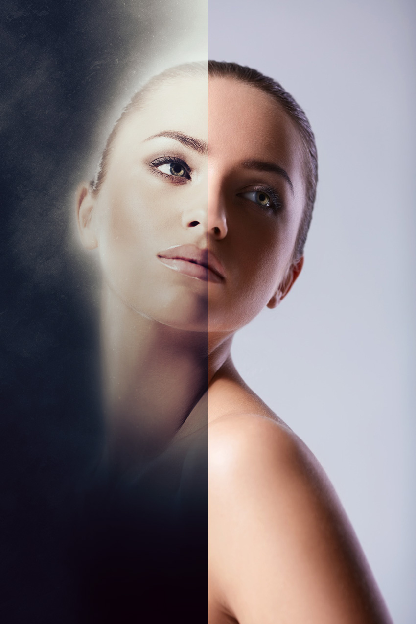 before and after soft focus 2