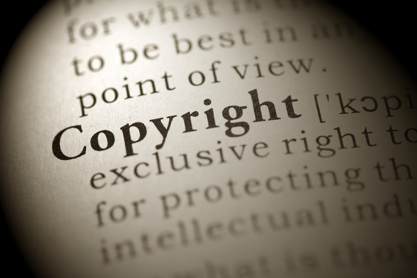 copyright definition in dictionary