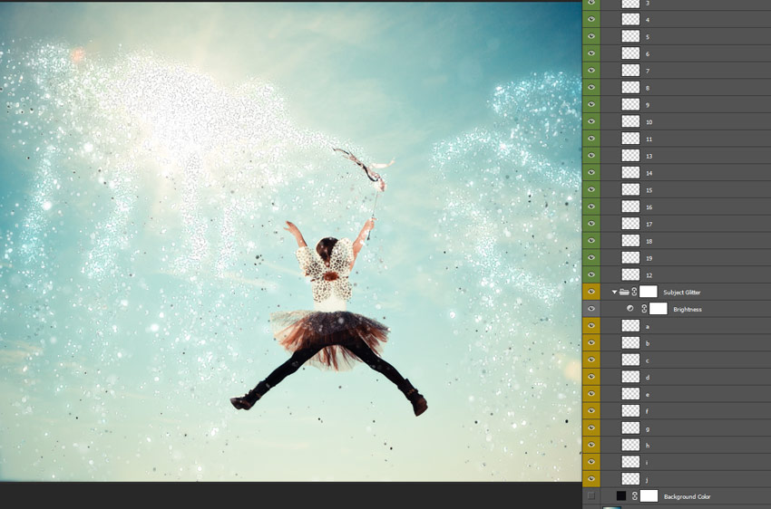 How to Glitterbomb a Photo in Adobe Photoshop (With an Action)