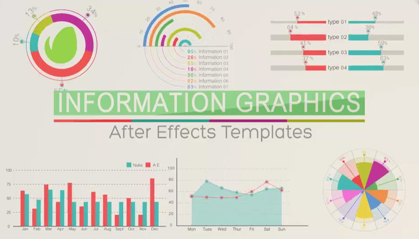 15 Top Flat Design Templates for Adobe After Effects