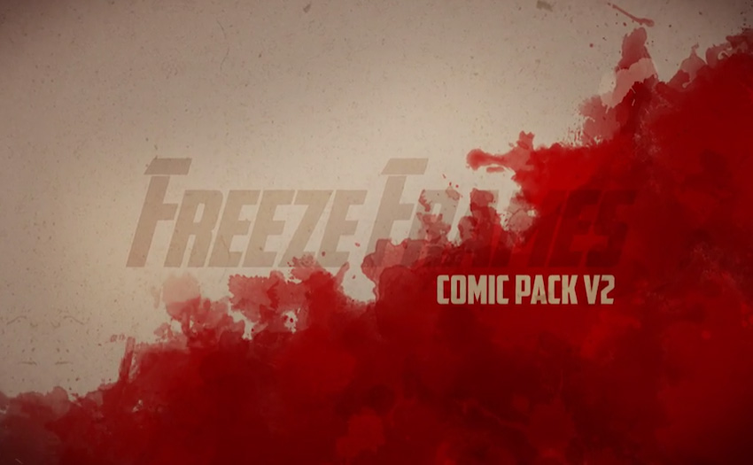 Freeze Frames Comic Pack V2