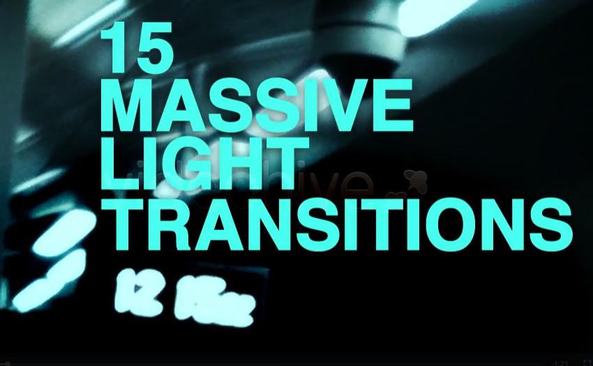 15 Massive Light Transitions Pack