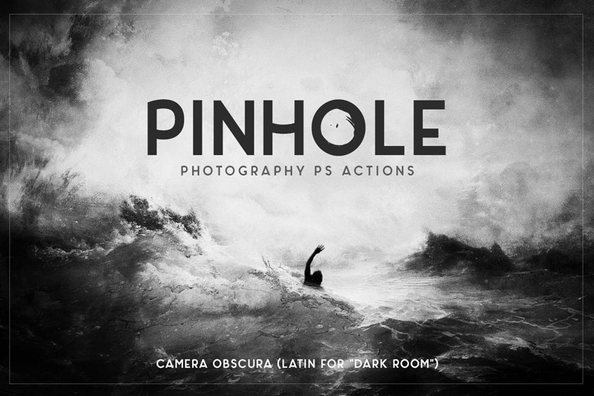 Pinhole Photography Photoshop Actions
