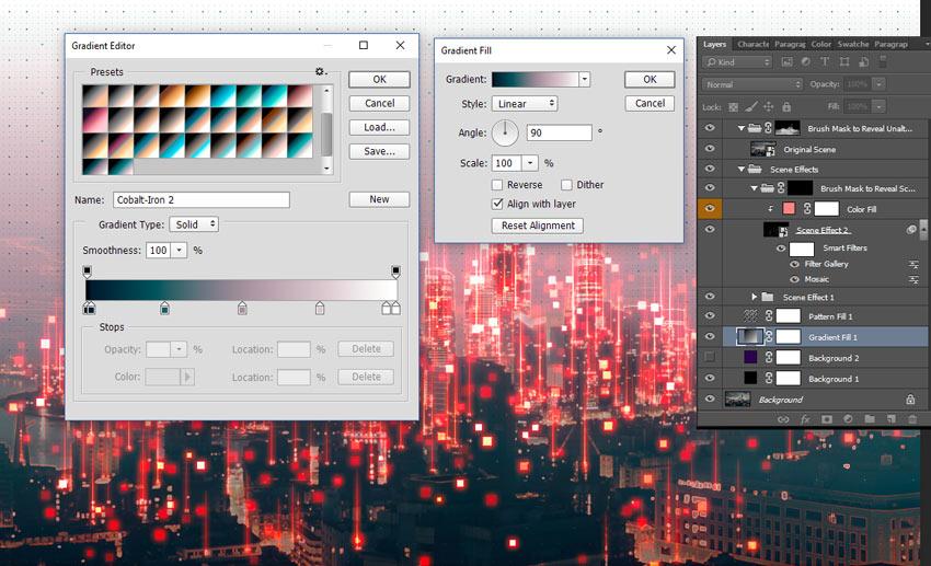 How to Create a Dark Futuristic City in Adobe Photoshop