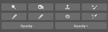 Tools section of the Universal Photoshop Panel