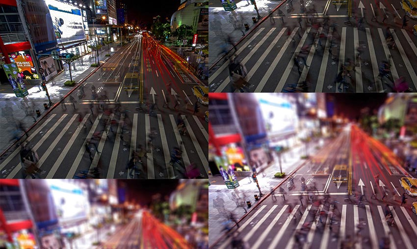 5 Great Actions for Tilt-Shift Photo Effects in Adobe Photoshop