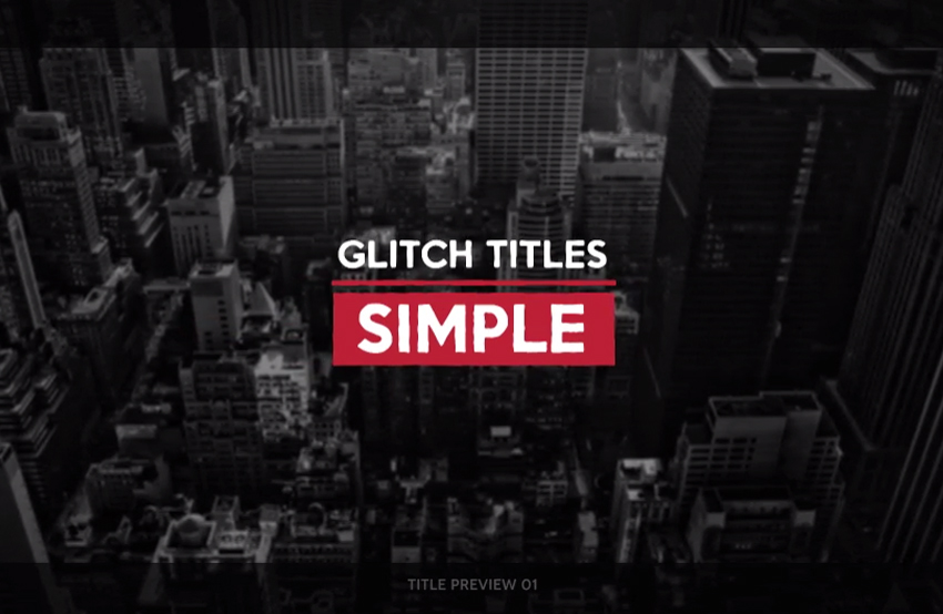 15 Top Title Templates for Adobe After Effects, for Your Inspiration