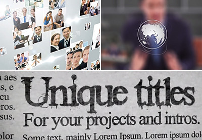 10 Easy Pieces: Lower Thirds After Effects Templates for Broadcast News