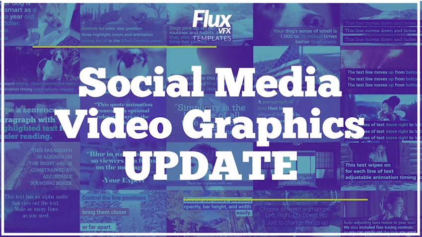 Social Media Video Graphics Pack