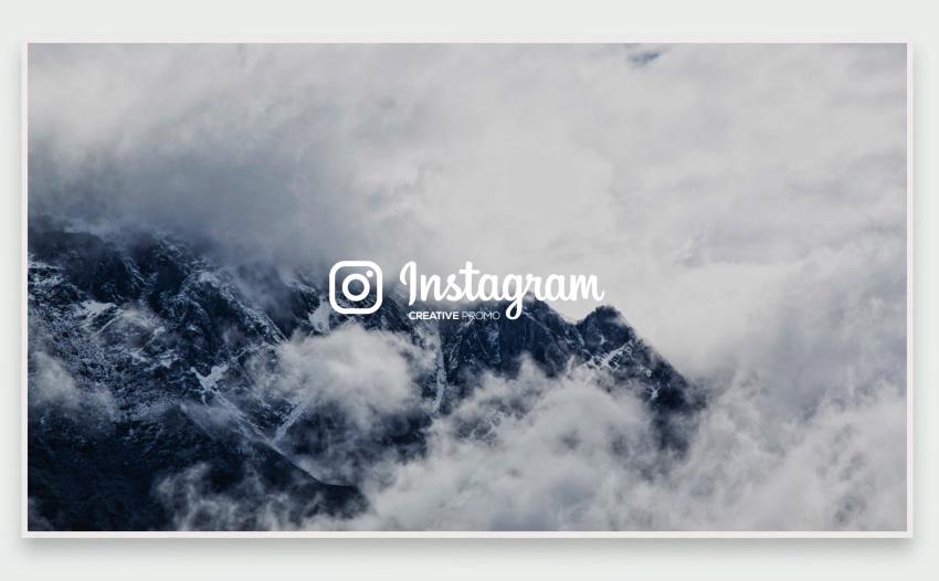 Creative Instagram Promo