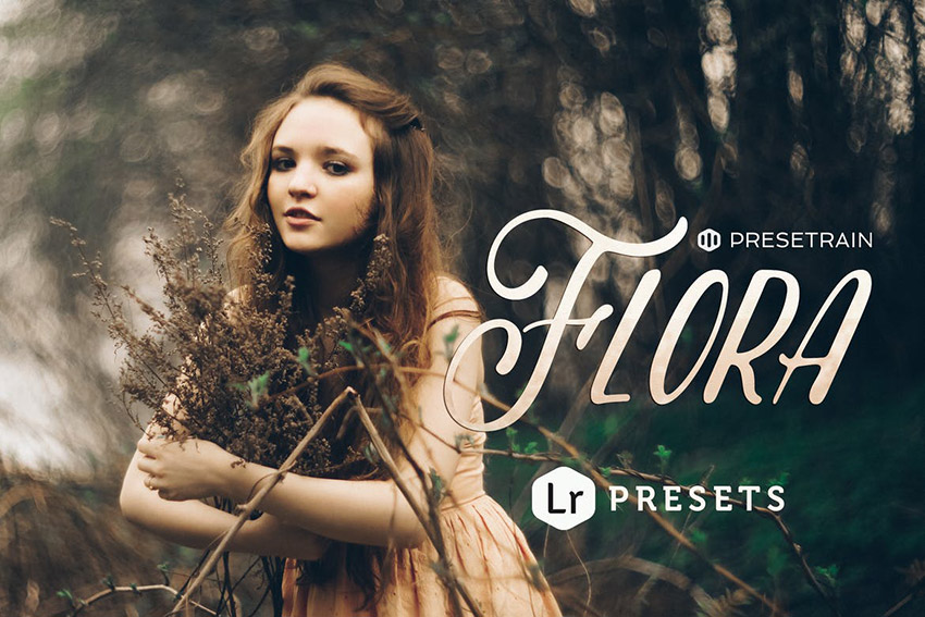 Flora  Presets for Adobe Lightroom