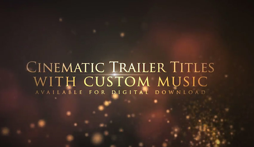 Cinematic Trailer Titles